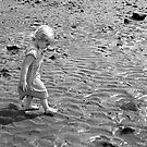 Martha on the beach 1 by Robert Steadman