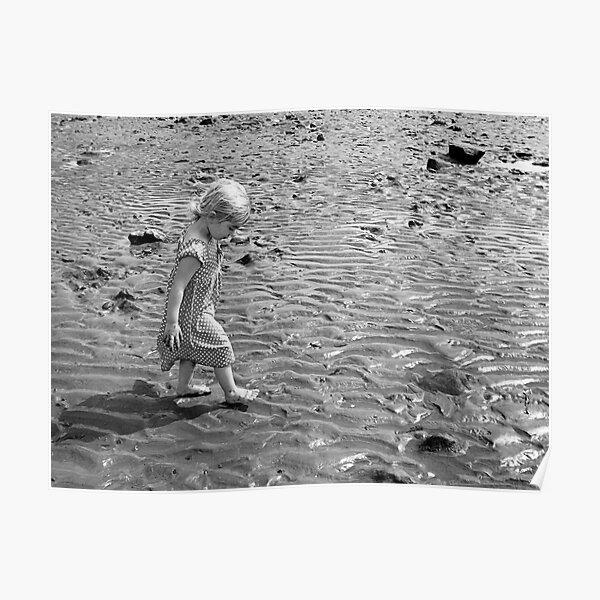 Martha on the beach 1 Poster