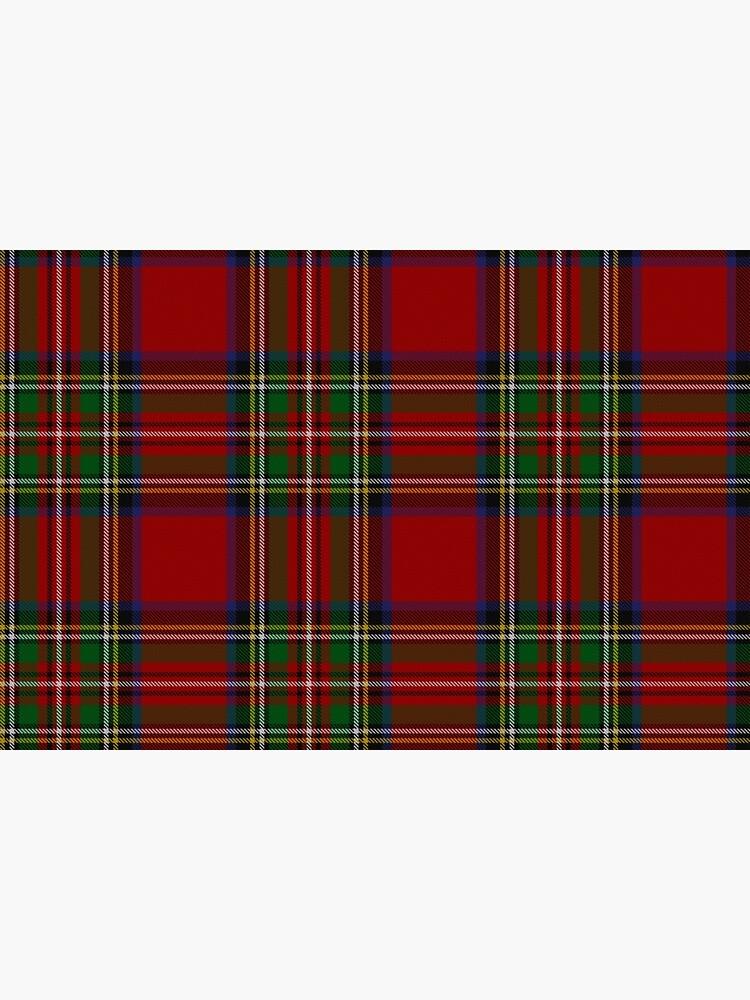 Royal Stewart Tartan Clan by podartist