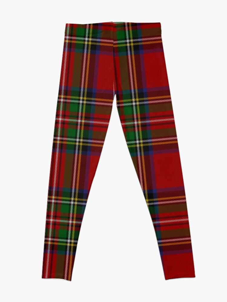 Alternate view of Royal Stewart Tartan Clan Leggings