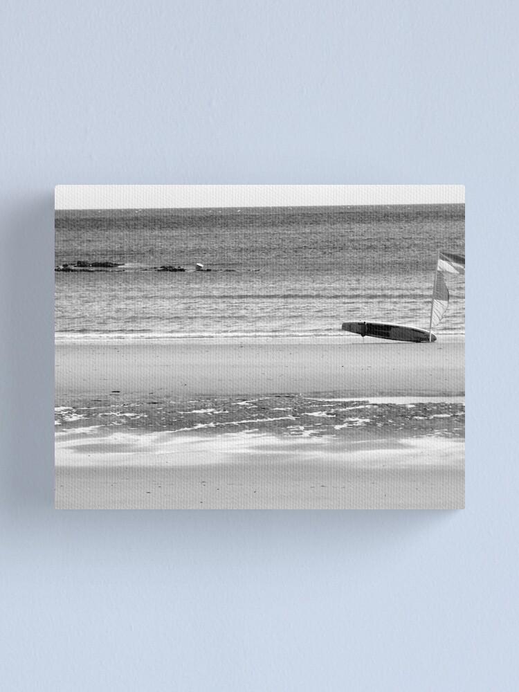 Alternate view of Windy Beach Canvas Print
