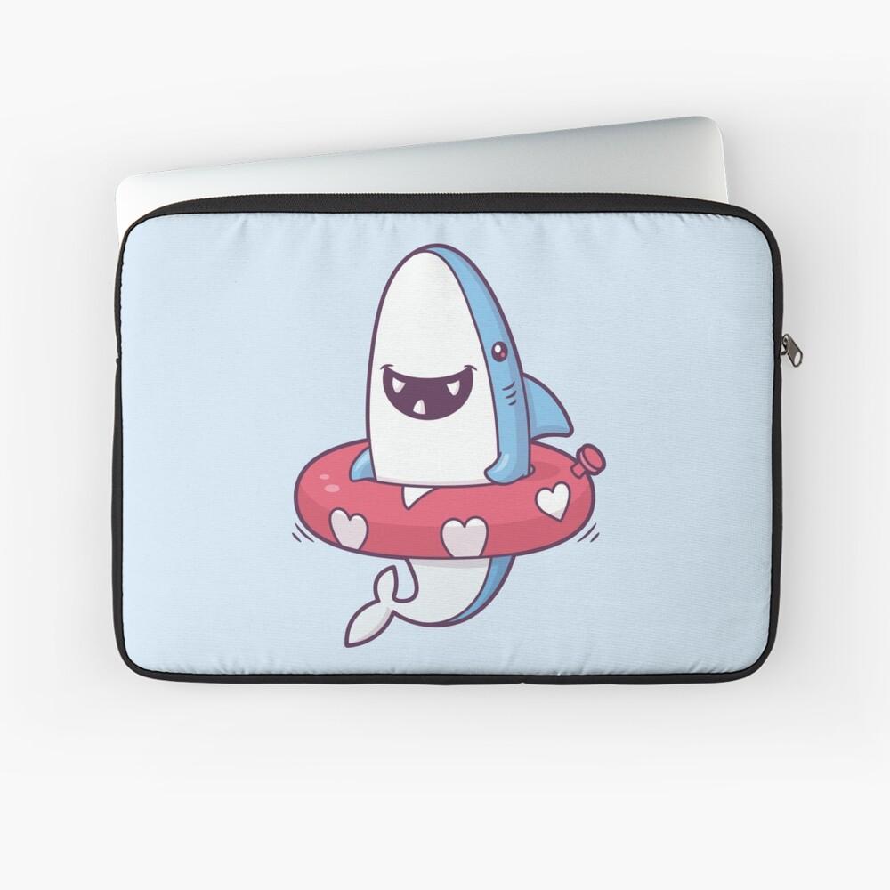 Shark Summer Fun Laptop Sleeve