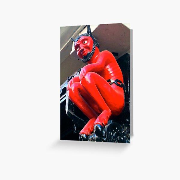 Stonegate Devil Greeting Card
