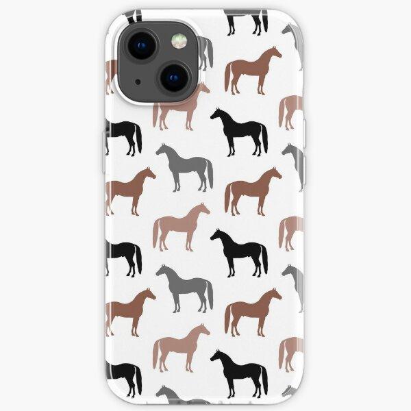 Horse Pattern iPhone Soft Case