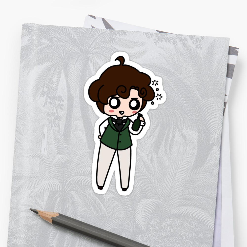 Grantaire Sticker Sticker