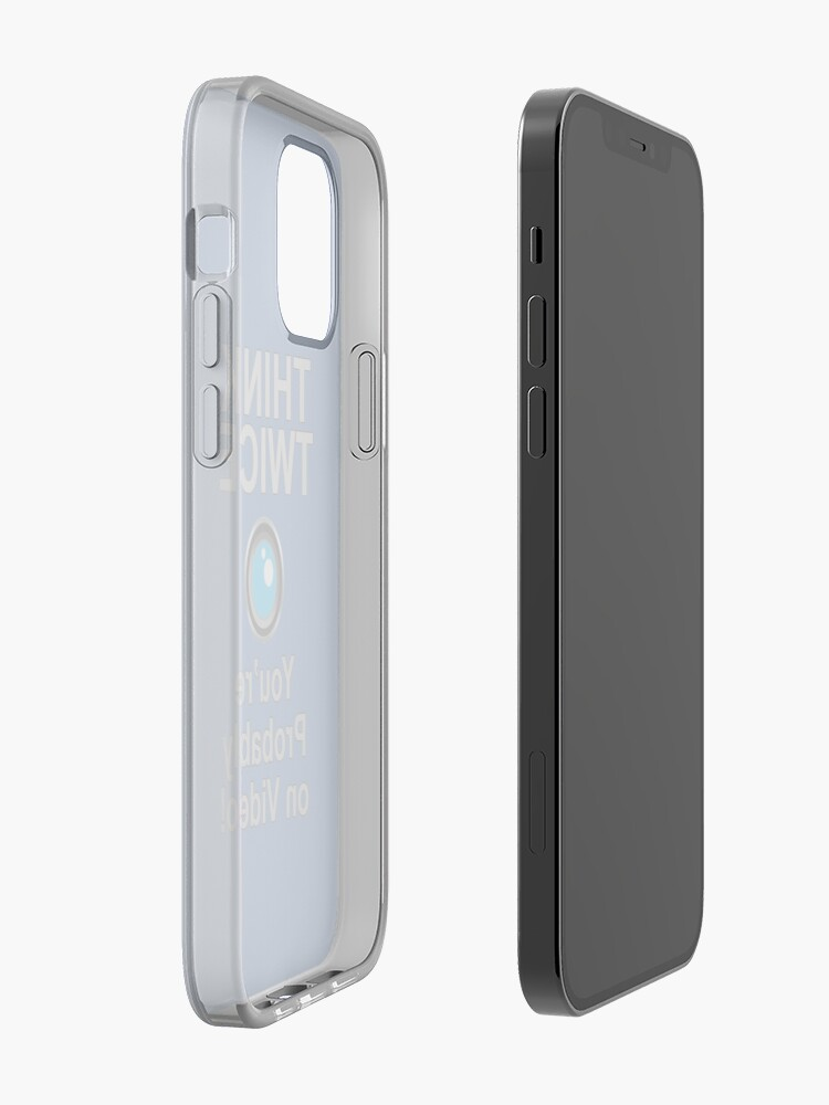 Alternate view of You're probably on Video iPhone Case & Cover