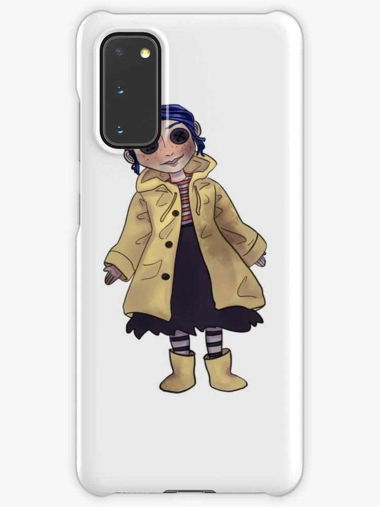 Coraline Doll Case Skin For Samsung Galaxy By Ikolit Redbubble
