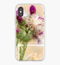 Colourful Thistle Mosaic  iPhone Case