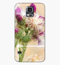 Colourful Thistle Mosaic  Case/Skin for Samsung Galaxy