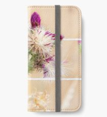 Colourful Thistle Mosaic  iPhone Wallet/Case/Skin