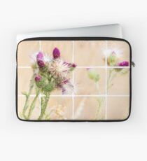 Colourful Thistle Mosaic  Laptop Sleeve
