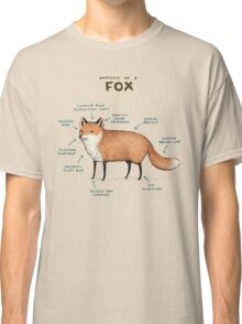 Anatomy of a Fox Classic T-Shirt