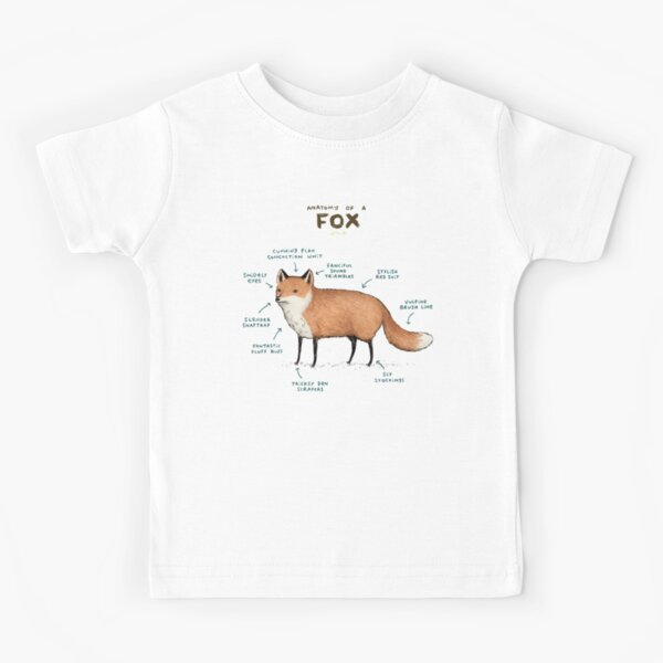 Anatomy of a Fox Kids T-Shirt