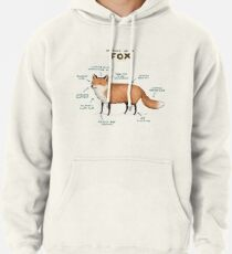 Sudadera con capucha Anatomía de un zorro
