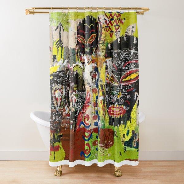 Kaos Heads Shower Curtain