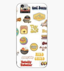 Groovy Retro Sticker Pack iPhone-Hülle & Cover