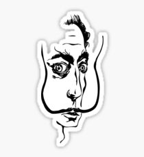 Salvador Dali Sticker