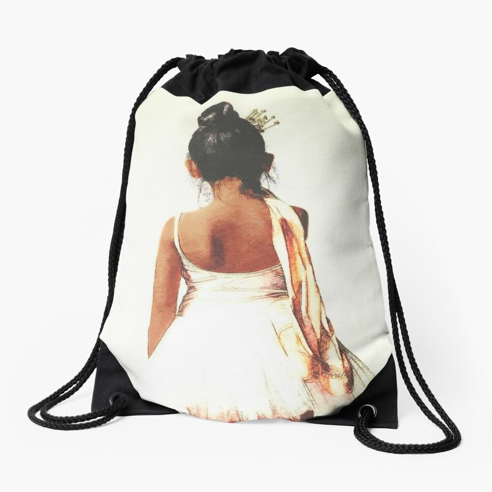 Afroamerikaner-Ballerina Turnbeutel