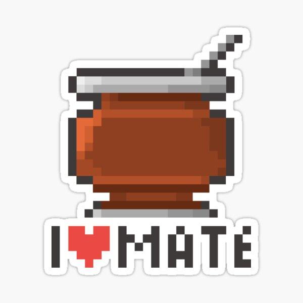 I love Mate Sticker