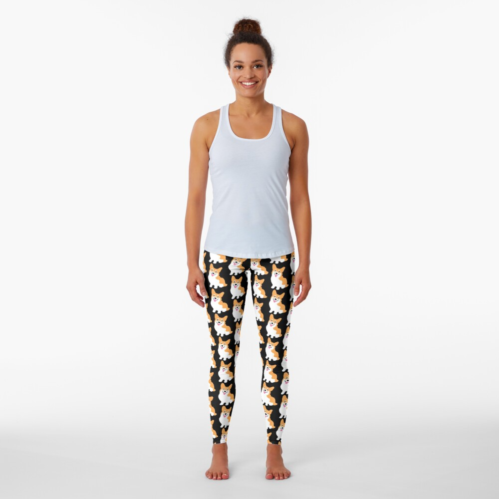 Cute Little Corgi Pup Leggings