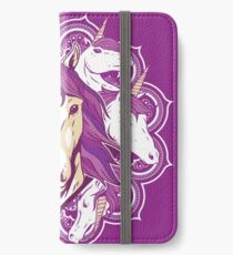 Unicorn Mandala iPhone Wallet/Case/Skin