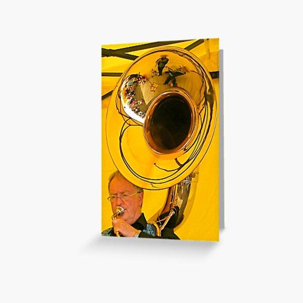 Sousaphone Greeting Card