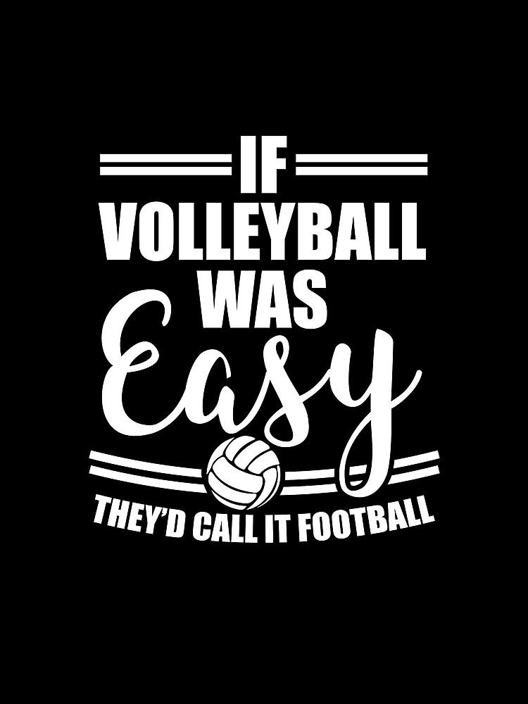 Volleyball Sport T-Shirt Team Geschenkidee von TW-Designs