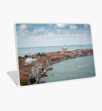 A View of Guidecca, Venice, Italy Laptop Skin