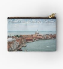 A View of Guidecca, Venice, Italy Zipper Pouch