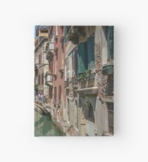 Canal Views of Venice Hardcover Journal