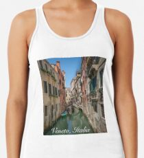 Canal Views of Venice Racerback Tank Top