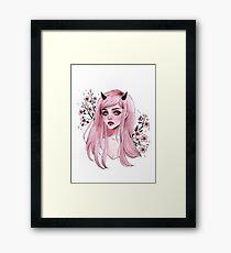 Sakura oni Gerahmtes Wandbild