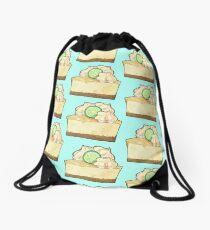 Lemon Cheesecake! Drawstring Bag