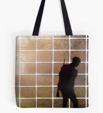Remembrance Tribute - Soldier -  Going Down of the Sun Tote Bag
