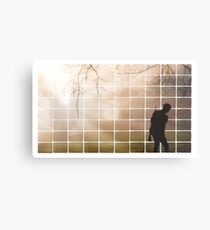 Remembrance Tribute - Soldier -  Going Down of the Sun Metal Print