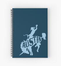 AUSTIN BRONCO Spiral Notebook