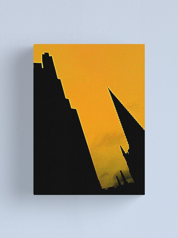 Alternate view of Sheffield Cathedral Spire Canvas Print