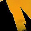 Sheffield Cathedral Spire by Robert Steadman