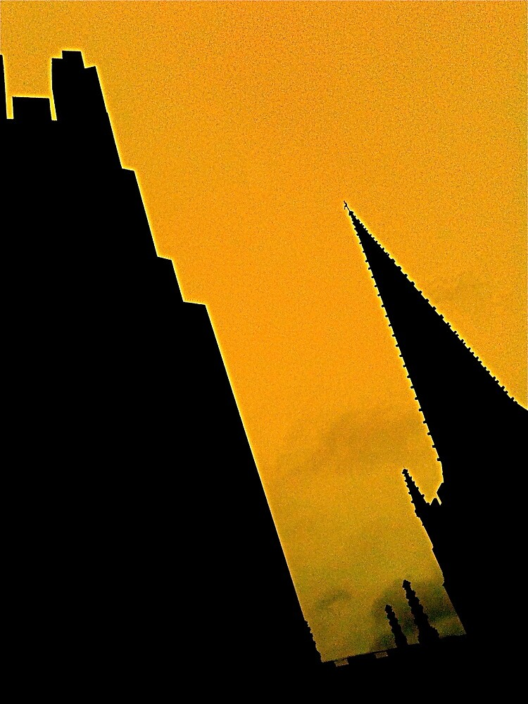 Sheffield Cathedral Spire by robsteadman