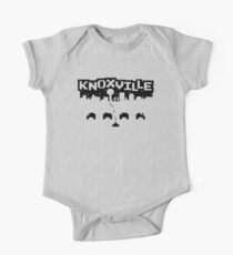 8-BITS OF KNOXVILLE Short Sleeve Baby One-Piece