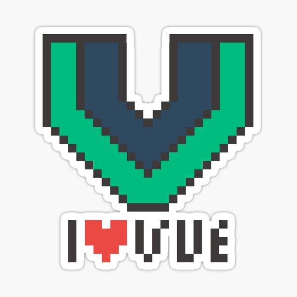 I love vue.js Sticker