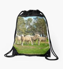 Waiting For Feed Time..... Drawstring Bag