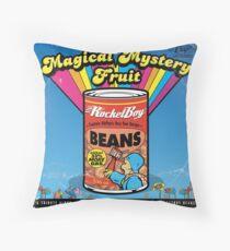 Magical Mystery Fruit Throw Pillow