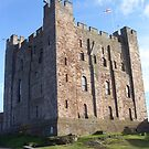 Magnificent Bamburgh Castle, Northumberland by Joy Williams