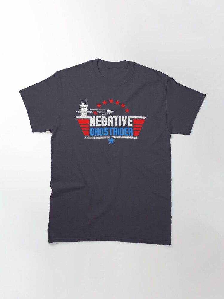 Alternate view of Negative Ghost Rider Classic T-Shirt