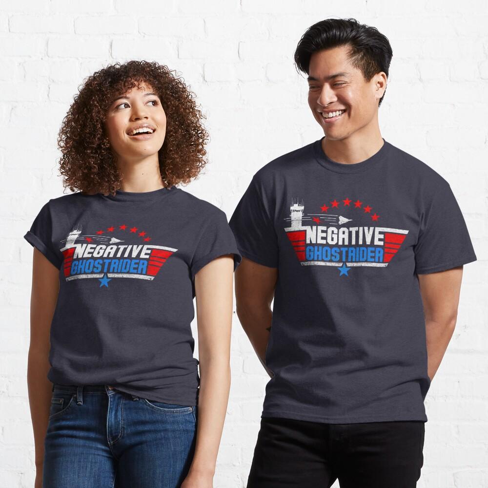 Negative Ghost Rider Classic T-Shirt