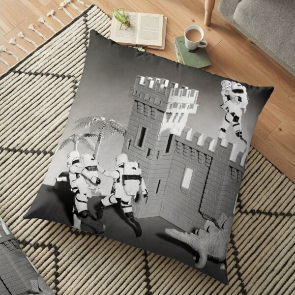 Storm Troopers with Running Blades Floor Pillow