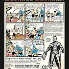 Squat & Flex Like a Man - Workout Video by Captain RibMan