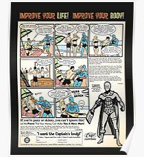 Squat & Flex Like a Man - Workout Video Poster