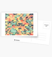 Abstract Geometry Postcards